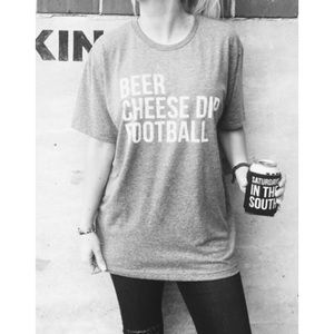 Like new Next Level Beer Cheese Dip Tee M $40!!